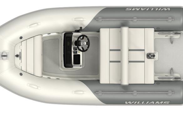 Williams Sportjet 400 top view