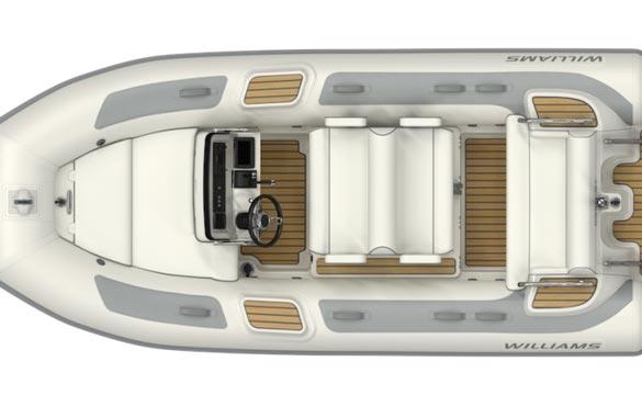 Williams Dieseljet 445 top view