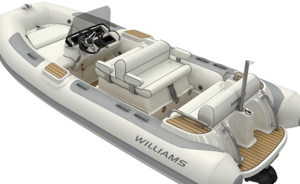 Williams Dieseljet 445 rear view