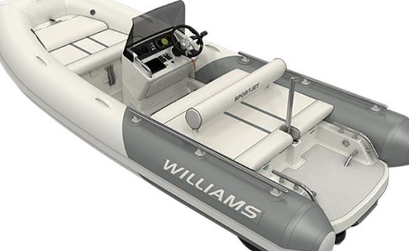 Williams Sportjet 460 rear view