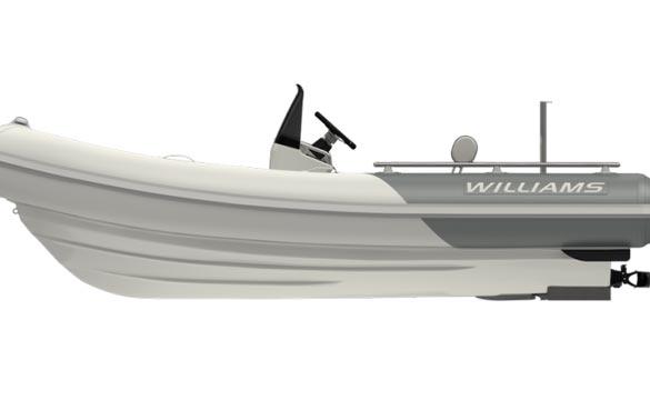 Williams Sportjet 460 side view
