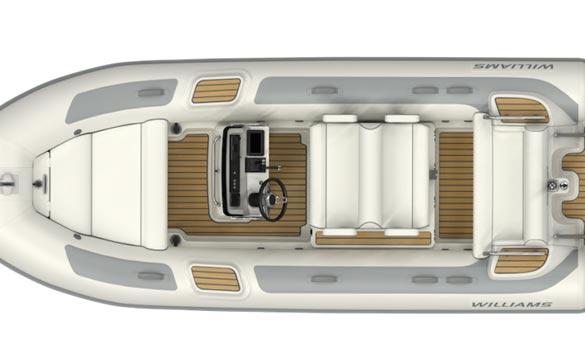 Williams Dieseljet 505 top view