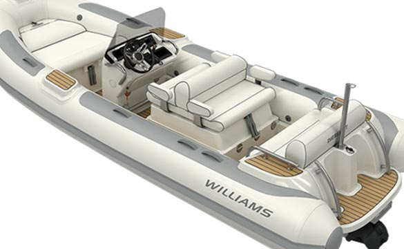Williams Dieseljet 505 rear view