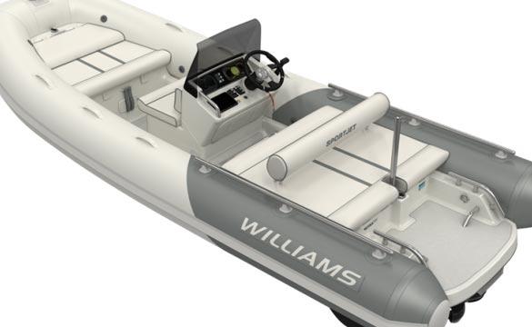 Williams Sportjet 520 rear view