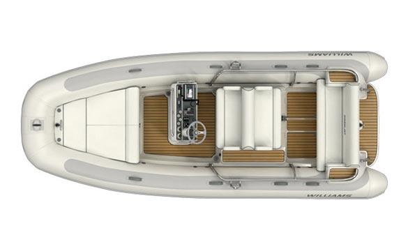 Williams Dieseljet 565 top view