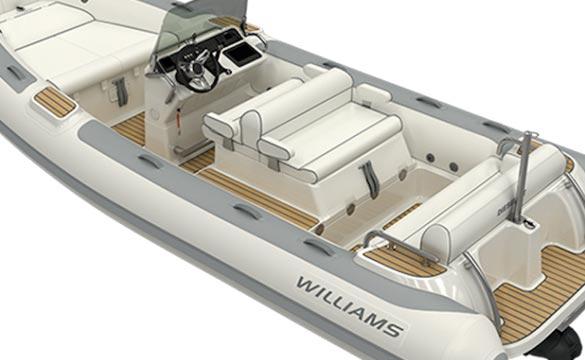 Williams Dieseljet 565 rear view