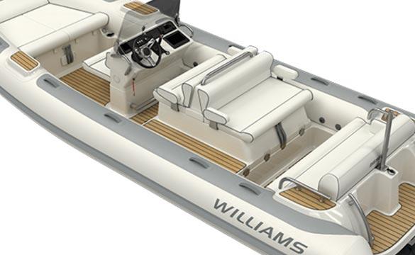 Williams Dieseljet 625 rear view