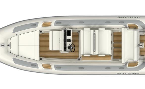 Williams Dieseljet 625 top view