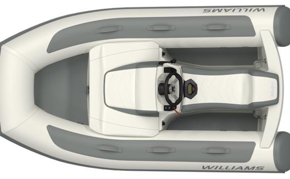 Williams Minijet top view