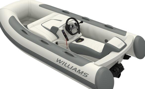 Williams Minijet rear view